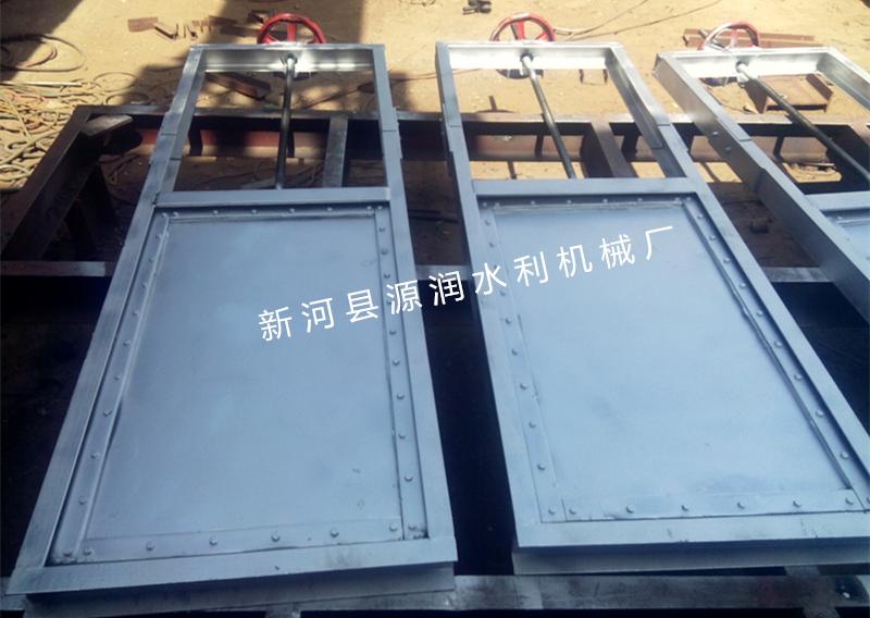 不銹鋼機閘一體閘門